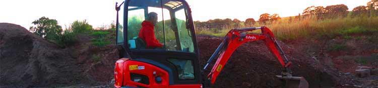 mini digger hire birmingham