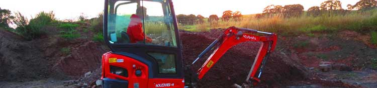 mini digger hire redditch